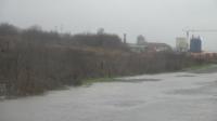 Дъждът в Бургаско се усилва, залят е пътят Созопол - Равадиново