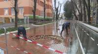 Варненска улица пропада за трети път след основен ремонт
