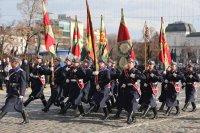 На Богоявление по традиция осветиха бойните знамена