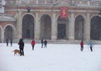 Необичайно ниски температури в Мадрид