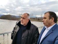 Максимално бързо ще бъде изграден разрушеният мост между село Блатска и Хаджидимово