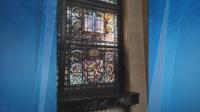 Боядисани ли са витражите в сградата на Съдебната палата?
