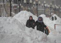 Минусови температури и заледени пътища в Москва