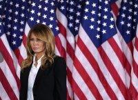 Мелания Тръмп се сбогува с американците