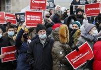 Полицията напада журналисти на протестите за Навални в Русия