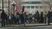 Протести срещу Байдън в различни американски градове