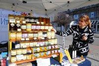 Медовина и виртуална баница на фермерския пазар в София (СНИМКИ)