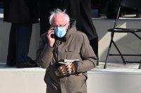 Кой уши ръкавиците на Бърни Сандърс, които се превърнаха в сензация?