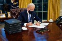 Джо Байдън подписа 15 указа в първите си часове като президент