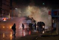 Бунтове срещу мерките и срещу правителството в Тунис