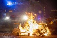 снимка 8 Сълзотворен газ, водни оръдия и над 200 арестувани в Нидерландия (Снимки)