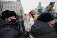 Международен отзвук след протестите в защита на Навални