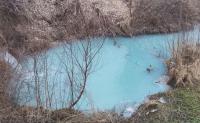 Поредно замърсяване на река Русенски Лом с химически оцветител