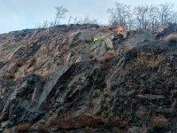 Над 100 метра от ската край Елисейна трябва да бъдат укрепени