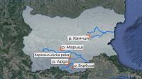Има опасност от покачване нивата на реките Марица, Арда, Доспат, Места и Струма