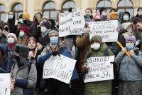 снимка 7 Над 3000 души са задържани на протестите в подкрепа на Навални (СНИМКИ)