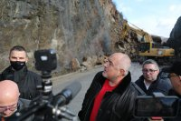 Борисов за срутището край Елисейна: Да се работи бавно, за да е сигурно и безопасно