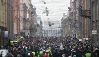 снимка 4 Над 3000 души са задържани на протестите в подкрепа на Навални (СНИМКИ)