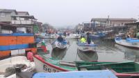 Рибари от Бургас излязоха на мълчалив протест в подкрепа на промените за озаконяване на постройките им