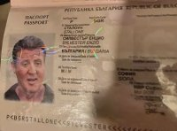 Силвестър Сталоун бил български гражданин - откриха негов фалшив паспорт