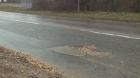"""Пътят между """"Аспарухово"""" и """"Галата"""" във Варна е пълен с дупки и неравности"""