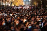Протести на студенти и преподаватели в Гърция