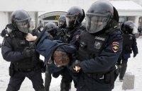 снимка 10 Над 3000 души са задържани на протестите в подкрепа на Навални (СНИМКИ)