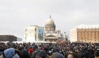 снимка 6 Над 3000 души са задържани на протестите в подкрепа на Навални (СНИМКИ)