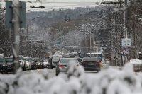 Почистени са главните улици и платната на градския транспорт в София