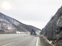 """Има ли риск от нови свличания на скална маса по магистрала """"Струма"""""""