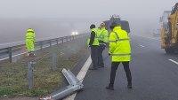 """снимка 3 Затварят част от магистрала """"Тракия"""" за ремонт"""