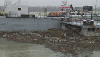 Сметища плават по река Дунав край Русе