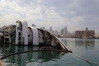 След унищожителния взрив на пристанището в Бейрут – следите напомнят за ужаса (Снимки)