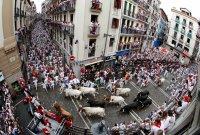 За втори път отмениха надбягването с бикове в Испания