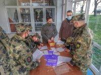 Започна ваксинирането на българските военни