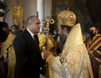 """Президентът присъства на храмовия празник на църквата """"Сретение Господне"""" в село Добърско"""