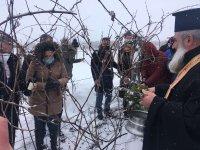 Как празнуват Трифон Зарезан в масивите на голяма изба край село Огняново