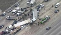 Верижна катастрофа с над 130 коли в Тексас взе жертви
