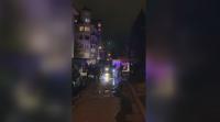 """Пожар в """"Гео Милев"""", изгорял е почти цял етаж от сграда"""