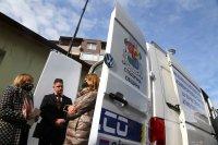снимка 1 Мобилна станция ще измерва 24 часа качеството на въздуха в София