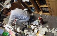 снимка 1 50 ранени след силния трус в Япония, близо 850 000 останаха без ток (Снимки)