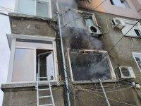 Пожар изпепели дом в триежна сграда в Пловдив