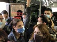 Абсурд в пандемия - как се пътува в автобус 67