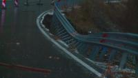 Свлачището на пътя Девин-Кричим е унищожило 30 метра подпорна стена