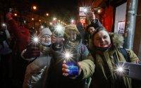 снимка 4 Демонстрации със светещи телефони в подкрепа на Навални в Русия