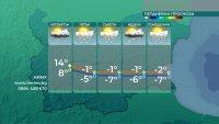 Облачно, но топло време за сезона и утре