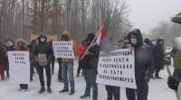 Протестиращи искат основен ремонт на пътя Бургас - Приморско