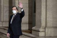 Бившият директор на ЕЦБ Марио Драги поема Италия