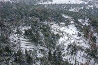 Фронтът Медея донесе сняг и силен вятър в Гърция