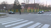 """Жители искат """"легнал полицай"""" на опасна отсечка в Благоевград"""